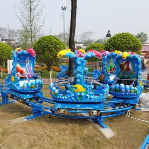 Quality Family Backyard Ocean Theme Roller Coaster Amusement Park Rides 1.65m Height wholesale