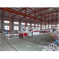 Quality Conical Twin Screw Wood Plastic Composite Machine / PVC Foam Board Extrusion Line wholesale