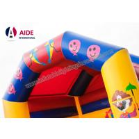 Cheap Cartoon Inflatable Bouncy Castle Rental , Outdoor Play Equipment For Toddlers for sale