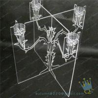 Quality CH (21) Acrylic Christmas hurricane candle holder wholesale