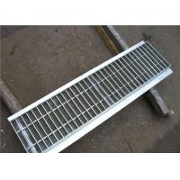 China Stainless Steel Grating Trench Cover With Twisted Steel Bar Raw Material on sale
