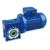 RV Aluminum Alloy Worm Gear Reducer With Small Gear Motor And Extension Shaft