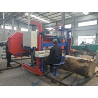 Cheap CNC industrial heavy duty big size wood horizontal band sawmill woodworking machinery for sale