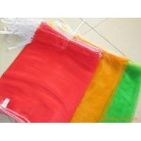 China Cheap large colourful PE mesh bag for fruits made in China. on sale