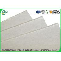 Quality 0.5mm - 4mm Grey Paper Board , Laminated Cardboard Sheets For Book Binding wholesale