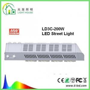Quality IP66 Bright Street Lighting Fixtures 200 Watt Commercial Street Lights wholesale