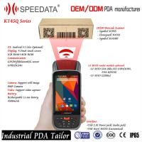Quality 4G LTE Rugged Long Distance 125Khz Rfid Reader Mobile / RFID Card Reader Bluetooth RS232 wholesale