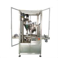 Quality automatic bottle can tin coffee powder packing machine price wholesale