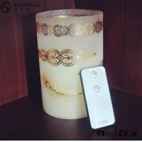 Quality Personalized Party / Event Paraffin Wax Candles In Prinnted Glass Jar wholesale
