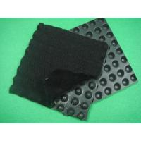 China HDPE Dimpled Drainage Board , Composite Geotextiles And Geomembranes  Thickness 0.5mm on sale
