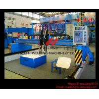 Quality Single Side CNC Flame Cutting Machine With Cutting Torches , Siemens / Schneider Electrical Parts wholesale