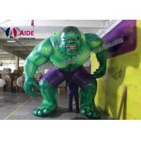 Cheap Anytime Fitness Blow Up Cartoon Characters Superman Model With Digital Print for sale