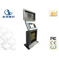 Quality All in one PC Touch Dual Screen Kiosk , 22 24 Information Interactive Kiosk wholesale