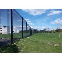 Quality Waterproof Commercial Steel Perimeter Fence 358 Welded Mesh Easily Assembled wholesale