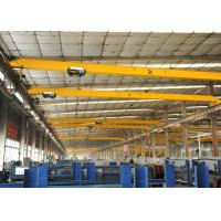 Quality A3 A4 A5 Working Class Electric Single Girder Overhead Crane 20 ton with Wireless Radio Remote Control wholesale