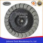 Quality 100 - 180 mm Diamond  Ceramic  Bond  Cup Wheel  For Concrete Grinding wholesale