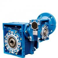 Quality NMRV Stepper Motor Gear Reducer Flange Mouted Syntheic / Maineral Lubricant wholesale