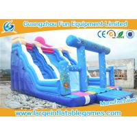 Quality Character Commercial Inflatable Slide With Inflatable Arch For Party And Events wholesale