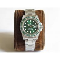 Buy cheap Rolex Submariner 116610LV 904L SS/SS Green Colored Gems Bezel V9 Noob SA3135 - from wholesalers
