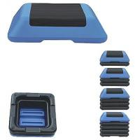 China Shock Absorbing Aerobic Step Board , Stepper Gym Equipment Adjustable Height on sale