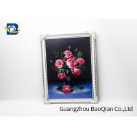 Quality PET / PP 3D Lenticular Pictures Printing Beauiful Flower Pattern For Home Decoration wholesale