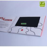 """Quality Custmize A4 & A5 book size 7"""" tft screen video greeting card wholesale"""