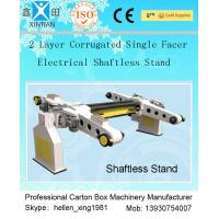 Quality Single Facer Automatic Cutting Paper Carton Making Machine With Manual Brake Disc wholesale