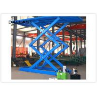 Quality Double Acting Single Piston Hydraulic Scissor Lift for Engineering Machinery wholesale