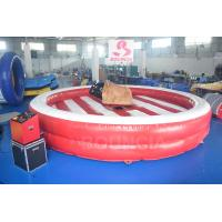 Quality Inflatable Bull Riding Machine / Inflatable Mechanical Bull CE Certification wholesale
