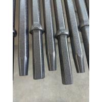 Quality Hardened Tapered Drill Rod With Shank 22 X 108mm 610mm - 8000mm Length wholesale