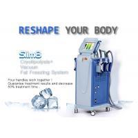 Quality Powerful Multifunctional Cryolipolysis Machine Cellulite Reduction Machine With 4 Handpieces wholesale