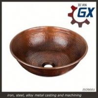 China Handmade Copper Sink to Lavabo in the Kitchen on sale