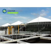 China Potable Glass Lined Water Storage Tanks Excellent Aid And Alkali Resistance on sale