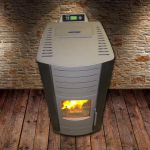 Quality European Pellet Stove Modern / Biomass Wood Pellet Boiler For Indoor wholesale