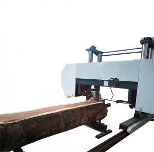 Quality Big wood log bandsaw sawmill Horizontal Cutting Heavy duty Band Saw wholesale