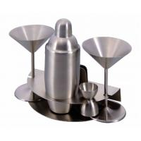 Quality nambe wood and metal barware collection wholesale