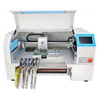 Quality CHMT530P4 Desktop SMD pick and place machine for pcb , 30 feeders wholesale