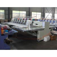 Quality 8 Head 12 Needle Industrial Computerized Embroidery Machine With Sequin Device wholesale