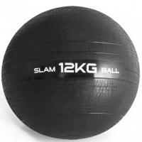 Quality Classic Weight PVC Slam Ball Strength Core Training Balls With Sand Inside Black 12KG wholesale