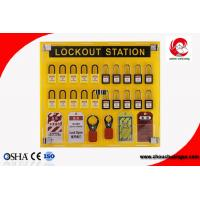 Quality 20 safety padlocks lockout station lockout Lock Hanging Board With tagout management station wholesale