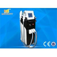 Quality elight(ipl+rf)+rf+laser tattoo removal machine Hot sale profesisonal elight shr ipl permanent hair removal wholesale
