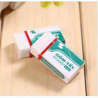Cheap PVC Eco-Friendly Student eraser for sale