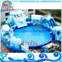 Quality Park Inflatable Water Slides,Inflatable Slide With Pool,Kids Used Water Slide For Sale wholesale