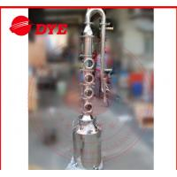 Quality 50L / 100L Mini Steam Home Distillation Equipment Semi-Automatic CE wholesale