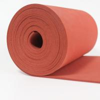China Close Cell Silicone Rubber Sheet Impression Fabric Surface 0.5 - 1.0g/Cm3 Density on sale
