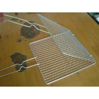 China barbecue grill wire netting made of stainless steel on sale
