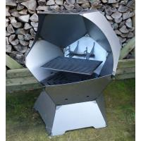 China new design corten steel fire pit with ISO on sale