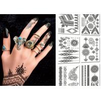 Buy cheap Popular Body Black Color Tattoo Stickers , Temporary Tattoos For Girls product