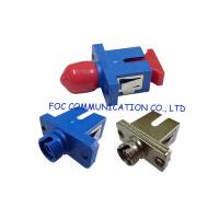 Quality Low Insertion Loss Fiber Optic Adapter / Ftth And Fttx Sc To St Adapter wholesale
