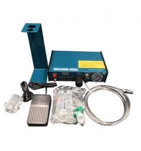 Quality 983A Liquid Glue Dispenser Machine , Glue Dispensing Equipment In Blue Color wholesale